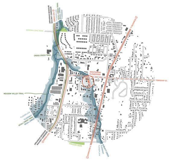 mapa para analizar el lugar